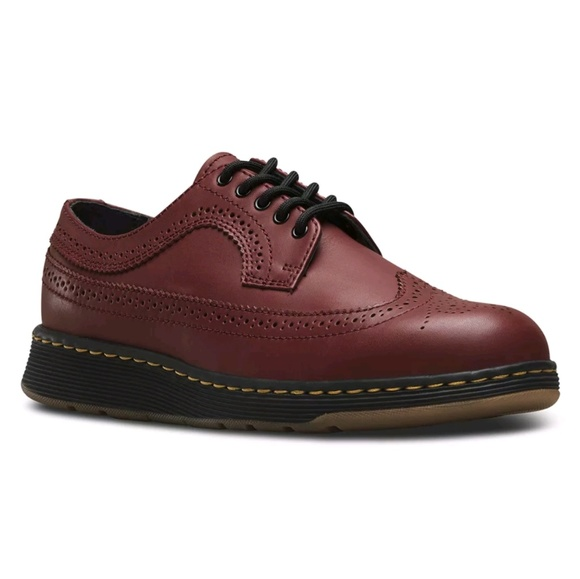 7fef0ee7019 Dr. Martens Shoes | Dr Martens Gabe Brogue Oxford Cherry Red Size 9 ...